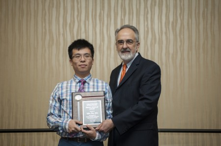 Dean Perri and Yifan Zhu - Dean's Scholar Award